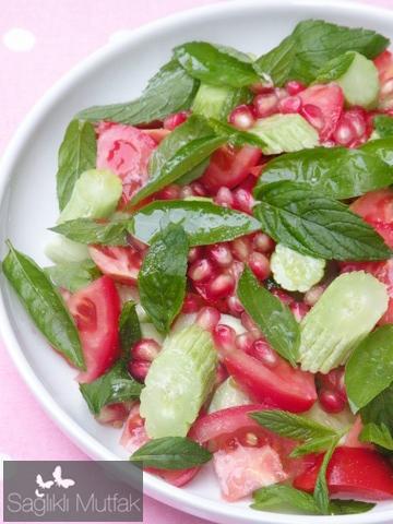 narlı acur salatası