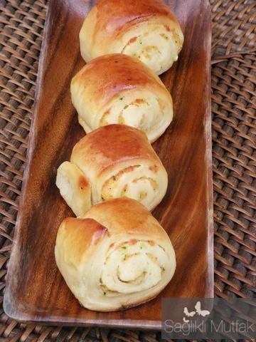Peynirli lokum çörek