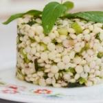 otlu kuskus  salatası