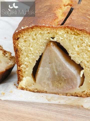 Armutlu Fıstıklı Kek Tarifi